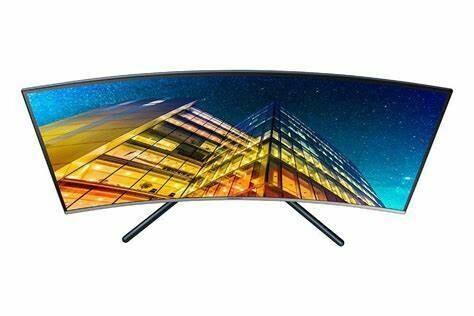 """Samsung 32"""" UHD Curved Monitor LU32R590CWEXXM"""