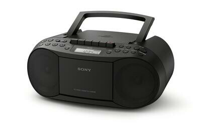Sony CD/Cassette Boombox with Radio CFD-S70