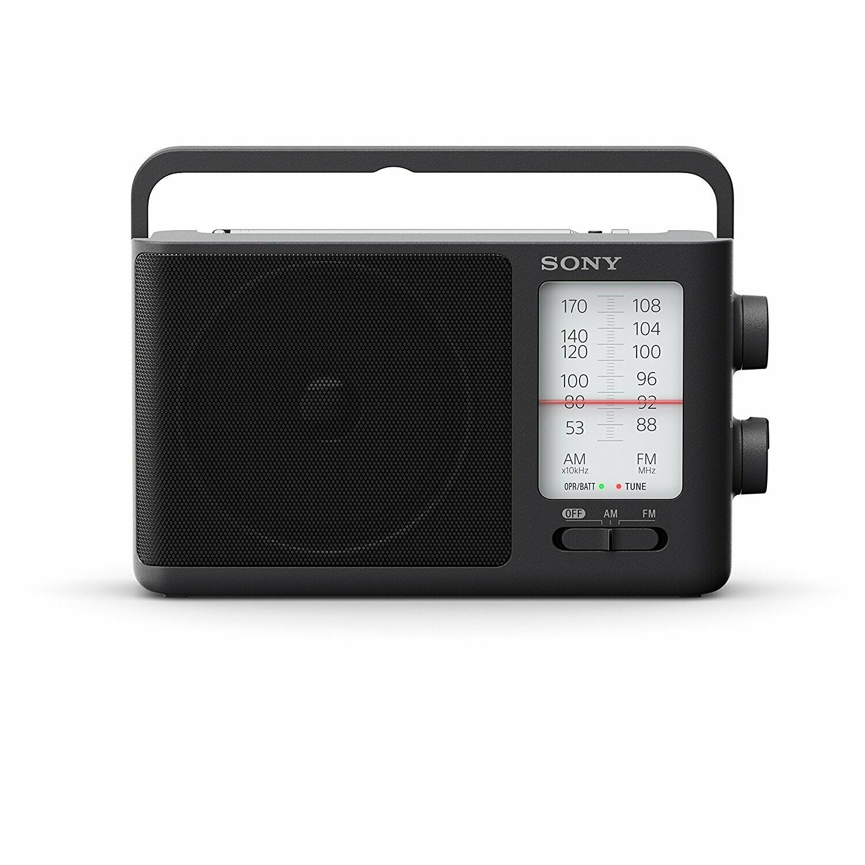 Sony Analog Tuning Portable FM/AM Radio ICF-19