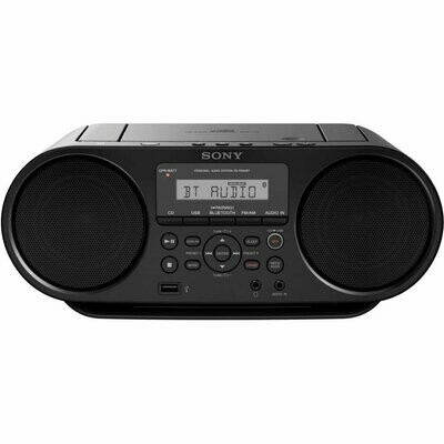 Sony CD Boombox with Bluetooth ZS-RS60BT