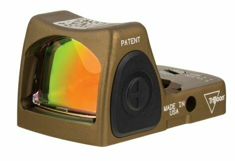 Trijicon RMR® HRS Type 2 Red Dot Sight 3.25 MOA Red Dot, Adjustable LED, Hard Anodized Coyote Brown  RM06-C-700780 (RM06-C-700779)