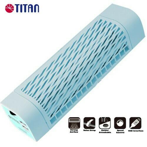 Titan 5V DC Fanstorm USB Tower Cooling Fan TTC-NF06TZ-V2