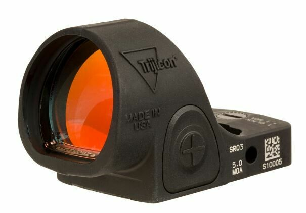 Trijicon SRO® Red Dot Sight 5.0 MOA Red Dot, Adjustable LED SRO3-C-2500003