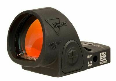 Trijicon SRO® Red Dot Sight 5.0 MOA Red Dot, Adjustable LED SRO3-C-2500003