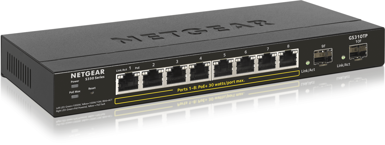Netgear 52-Port Gigabit Ethernet Smart Managed Pro Switch GS348T-100EUS