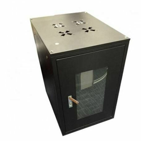 """ST Rack 15U 19"""" Floor Stand Rack - 830mm (H) x 600mm (W) x 800mm (D) 5 x Power Outlet ST-FS1568"""
