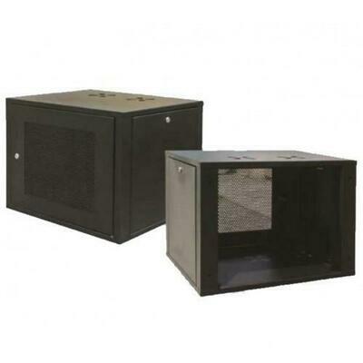 """ST Rack 9U 19"""" Wall Mount Server Rack - 450mm (H) x 600mm (W) x 500mm (D) 3 x Power Outlet ST-WM0965"""