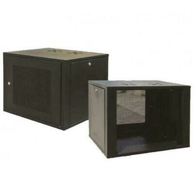 """ST Rack 12U 19"""" Wall Mount Rack - 580mm (H) x 600mm (W) x 500mm (D) 3 x Power Outlet ST-WM1265"""