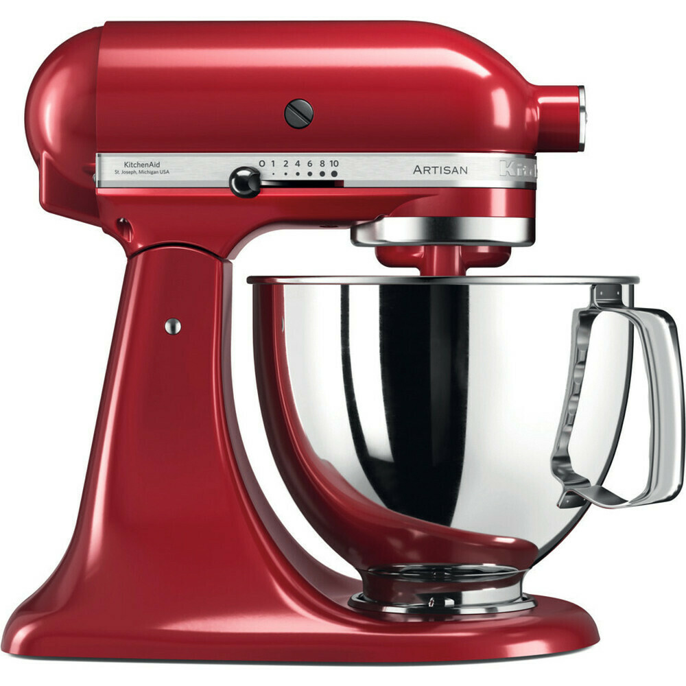 KitchenAid KSM125 4.8L Tilt Head Stand Mixer Without Pouring Shield
