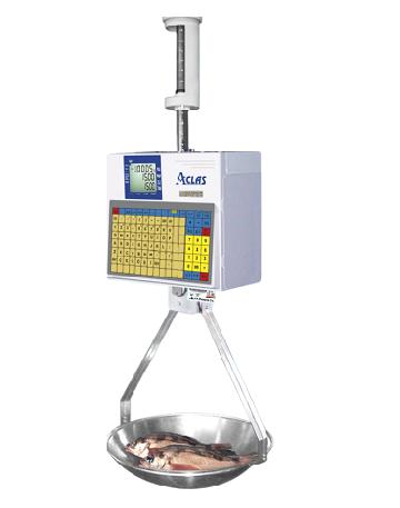 Aclas-LH-1X  Hanging Bar-Code Scale (15KG X 5G)
