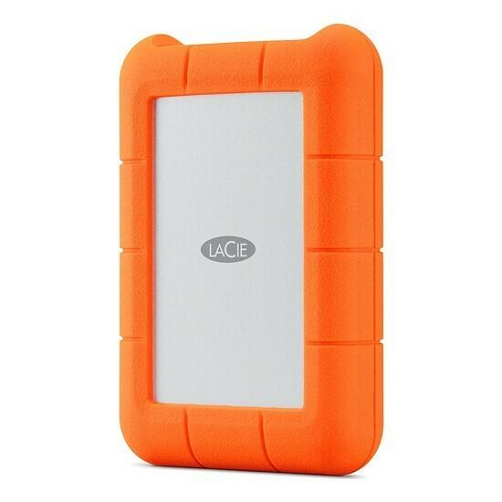 Lacie Rugged RAID Pro 4TB USB 3.1-C With Rescue STGW4000800