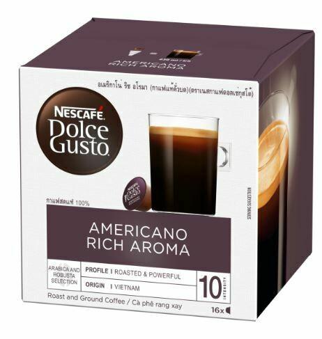 Nescafe Dolce Gusto Americano Rich Aroma 16 Capsules Per Box