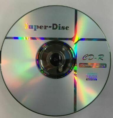 Super Disc CDR 52x Recordable Media 700MB (1 Pc)