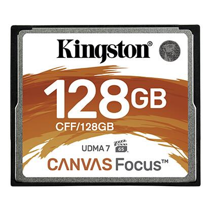 Kingston Canvas Focus CompactFlash Memory Card for DSLR Cameras