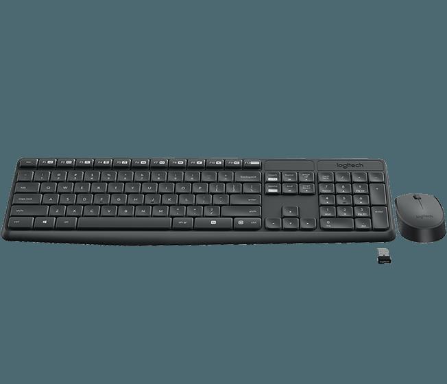 Logitech MK235 Wireless Keyboard & Mouse