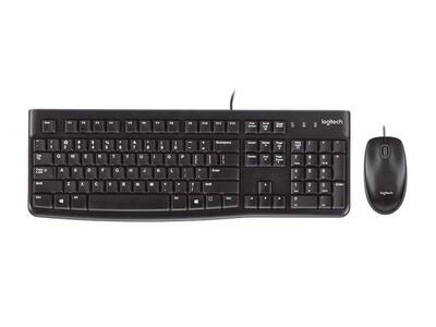 Logitech MK120 Wired Desktop Keyboard Combo