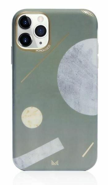 Monocozzi Pattern Lab Soft TPU Bumper Cover Shape iPhone 11