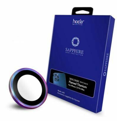 Hoda Sapphire Lens Protector iPhone Flamed Titanium