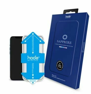 Hoda Sapphire Screen 3D Illusion Protector for iPhone 12 Series w/Helper