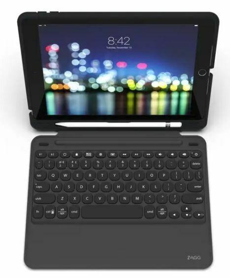Zagg Slim Book Go Ultra-Slim Keyboard & Detachable Case for iPad 10.2-inch (7th Gen)