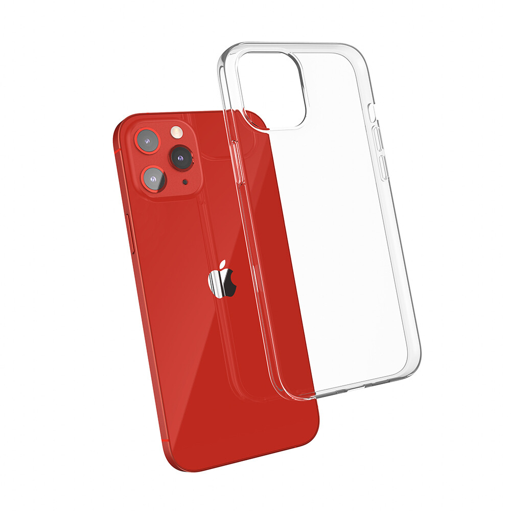 JTLegend Crystal Feather TPU Case For IPhone 12 Series (Crystal)