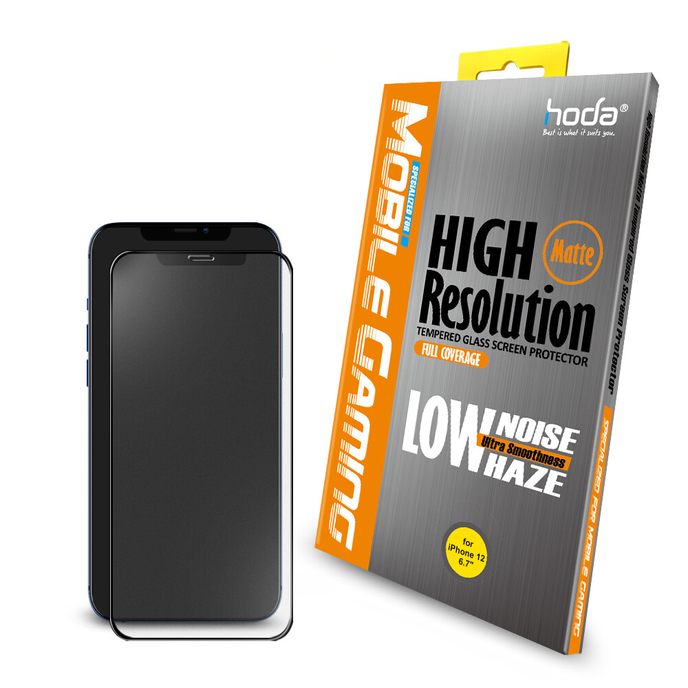 Hoda 2.5D Anti-Glare Matte Full Coverage Tempered Glass For IPhone 12 Series