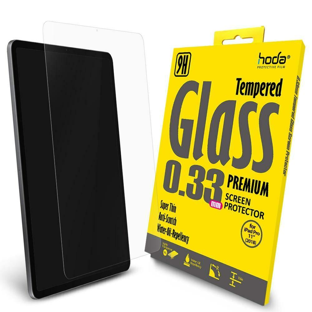 "Hoda 0.33mm Full Coverage Tempered Glass Apple iPad Pro 11"" 2018"