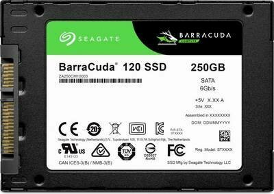 """Seagate BarraCuda 120 250GB/SATA/2.5""""  ZA250CM1A003"""
