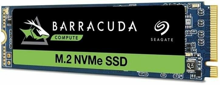 Seagate Barracuda SSD 510 250GB/PCIe G3 ×4, NVMe 1.3/M.2 ZP250CM3A001