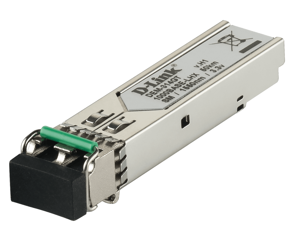 D-Link DEM-314GT SFP 1000BASE-LX Single-Mode 50 Km SFP Transceiver