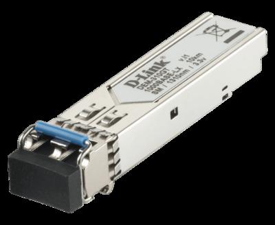 D-Link DEM-310GT 1000BASE-LX Single-Mode 10 Km LC SFP Transceiver