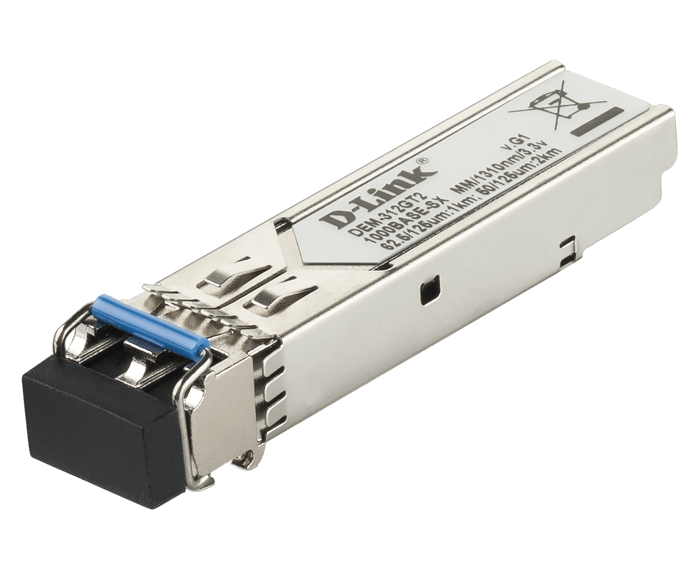 D-Link DEM-312GT2 1000BASE-SX Multi-Mode 2 Km LC SFP Transceiver