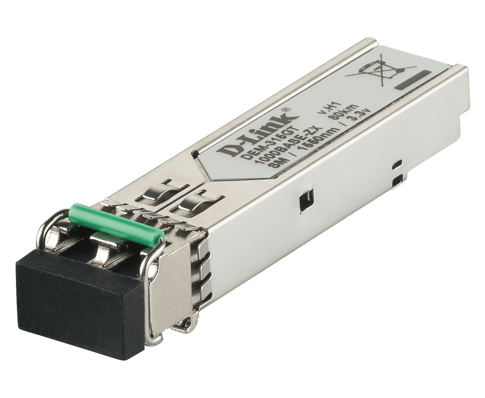 D-Link DEM-315GT 1000BASE-ZX Single-Mode 80 Km SFP Transceiver