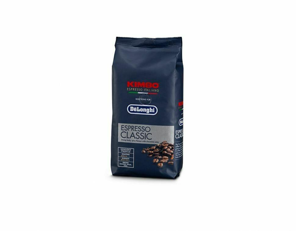 Delonghi Kimbo Classic Espresso Coffee Beans 250g