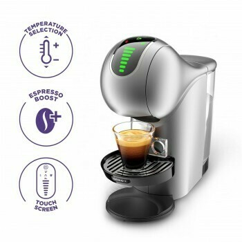 Nescafe Dolce Gusto Genio S Touch Automatic Coffee Machine - Silver