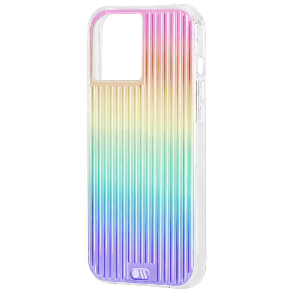 Case Mate iPhone 12 Tough Groove - Iridescent W/ Micropel