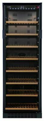 Tuscani Bellona 166 Freestanding Wine Cellar 151 Bottles Black