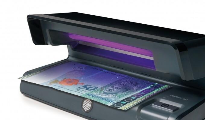 Safescan 50 Black UV Counterfeit Detector