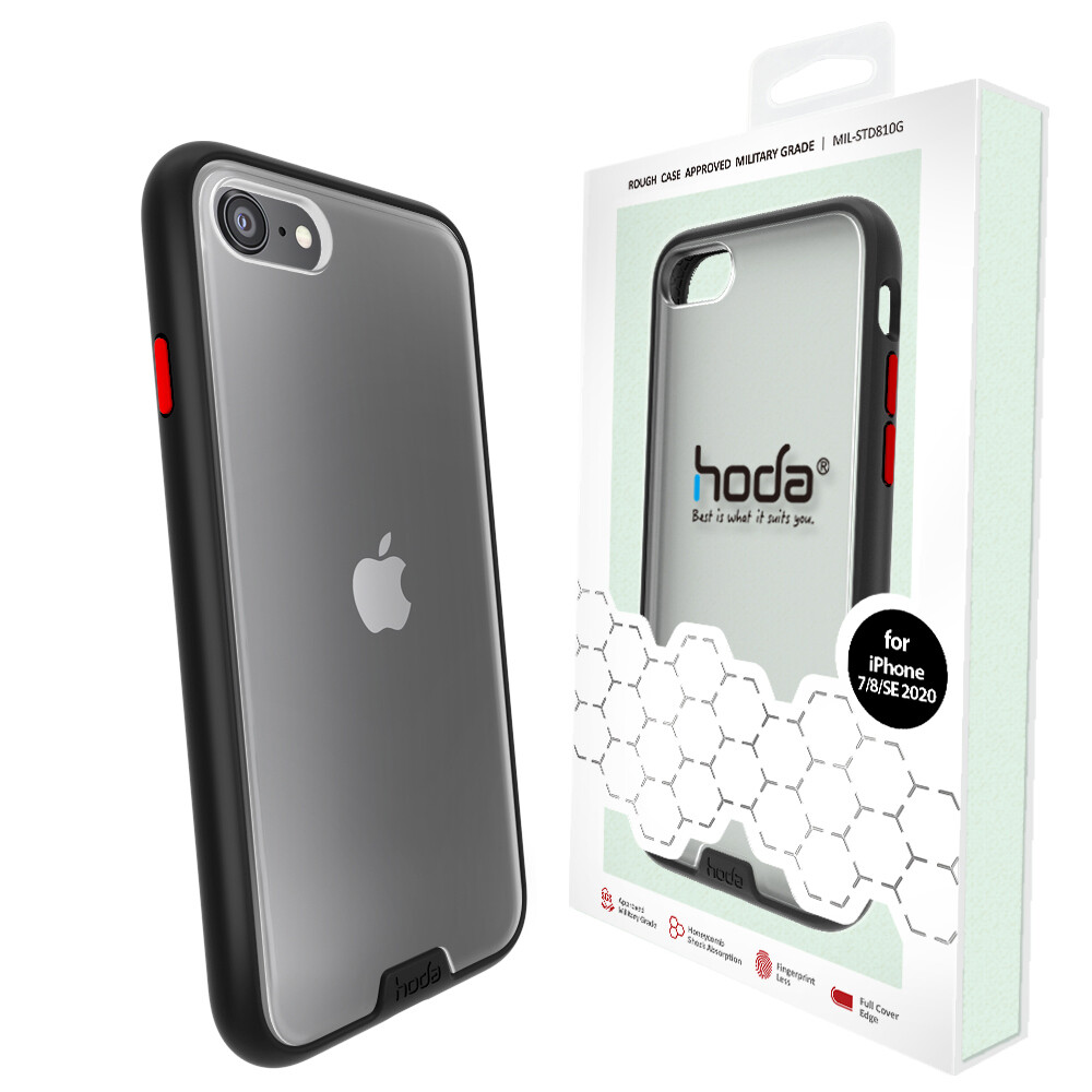 HODA Rough Military Protective Case for iPhone SE 2020 / IPhone 7 / 8