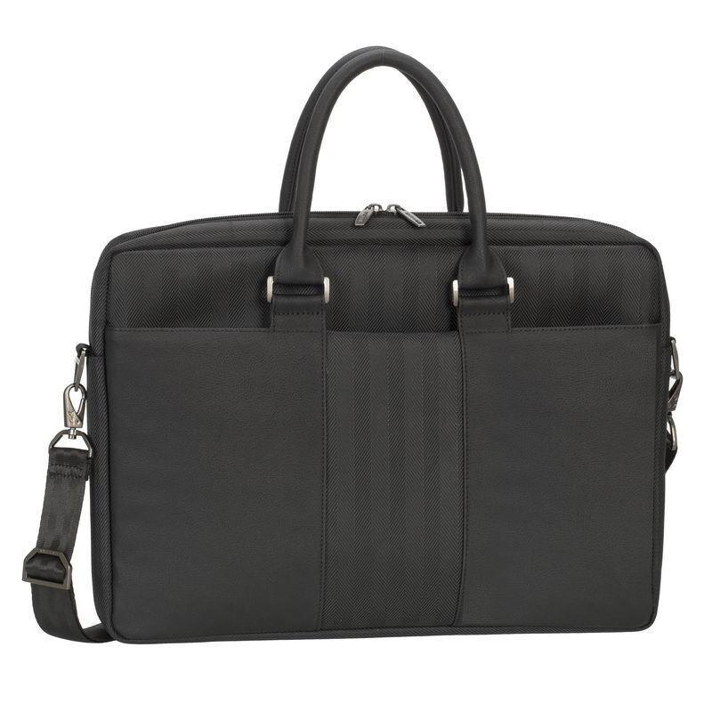 "Rivacase Narita Laptop Business Shoulder Bag 15.6"" (Black)"