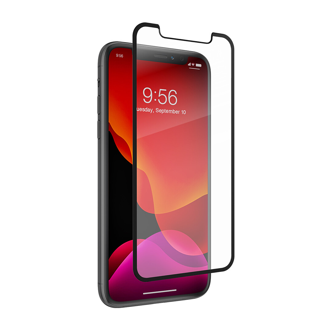InvisibleShield Elite Edge Tempered Glass for Apple IPhone 11 Pro / XS / X