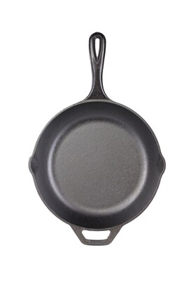 Lodge Chef Collection 12 Inch (30.48cm) Cast Iron Skillet (LC12SK)