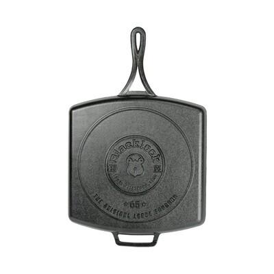 Lodge Blacklock *65* 12 Inch Triple Seasoned Cast Iron Grill Pan BL65GP