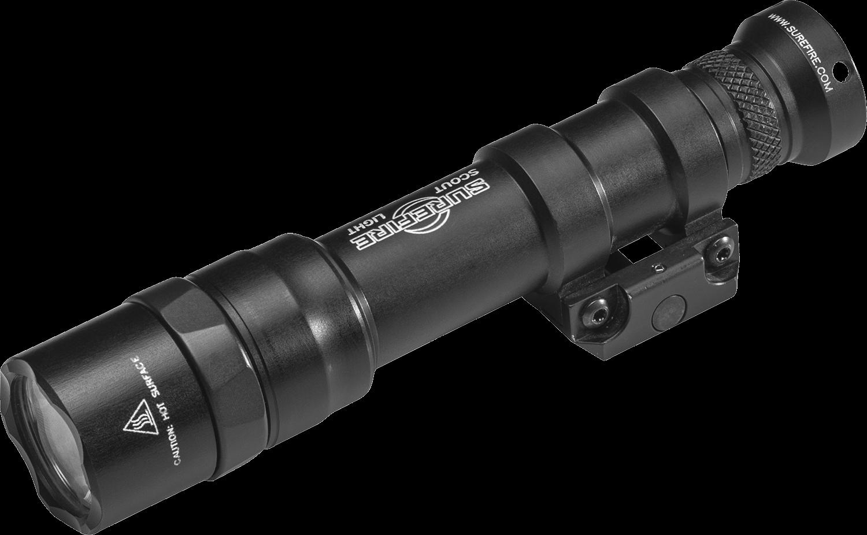 Surefire M600DF Dual Fuel LED Scout Light (1500 Lumens) Black