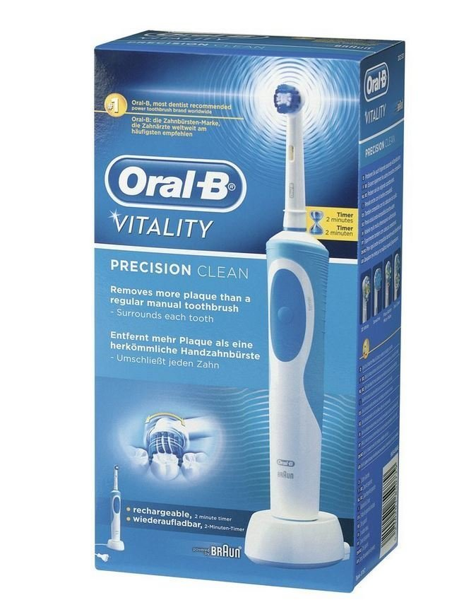 Braun Oral-B Vitality Precision Clean Electric Toothbrush D12.513