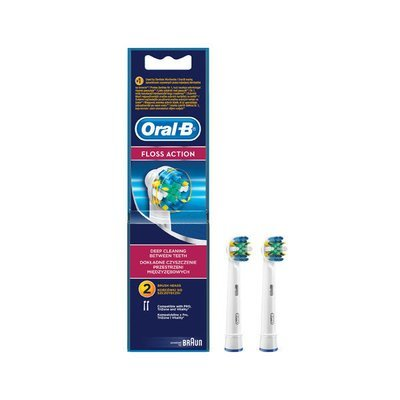Braun Oral-B Floss Action Replacement Brush Heads EB-25