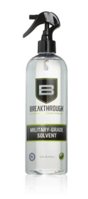 Breakthrough Clean Military-Grade Solvent 16 fl oz (473ml) Spray Bottle BTS-16OZ