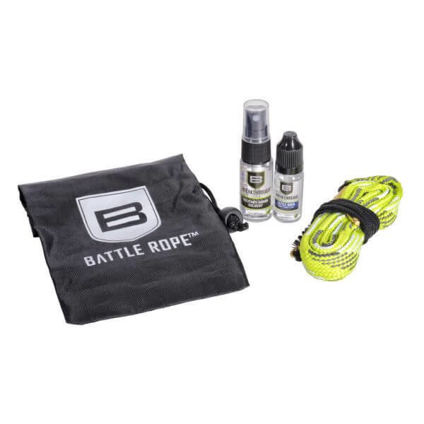 "Breakthrough Clean Battle Rope Kit with ""Mini Size"" Bottles and Bag – .357 cal / .38 cal / 9mm (Pistol) BT-BRFS-35/38/9P"