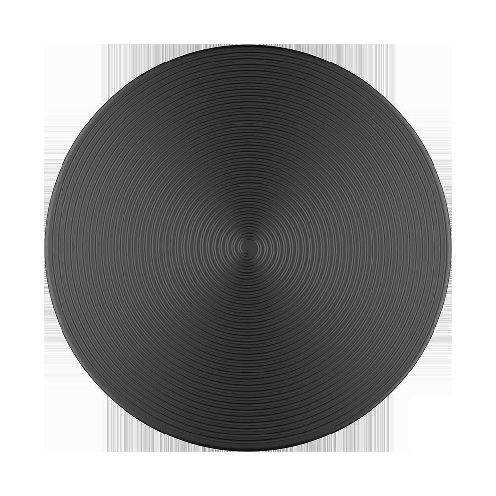 Popsocket Twist Black Aluminium