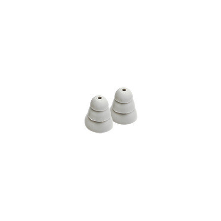 Etymotic ER38-18 Large Gray 3-Flange Eartips (PRE ORDER)